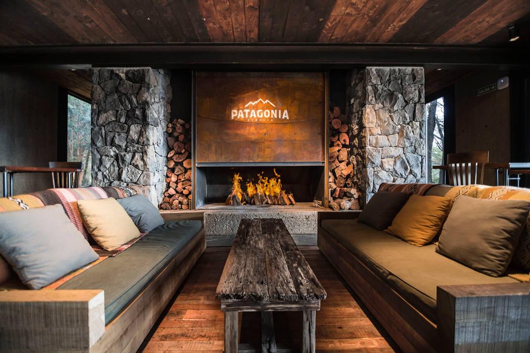 Cervecería Patagonia: Interiorismo : Bares y Clubs de estilo  por Bórmida & Yanzón arquitectos