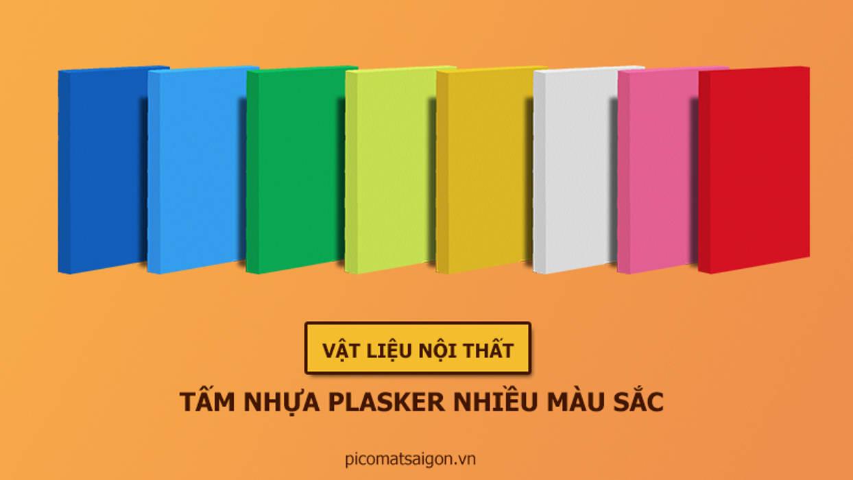 Tấm nhựa Plasker pha màu bởi Picomat Sài Gòn