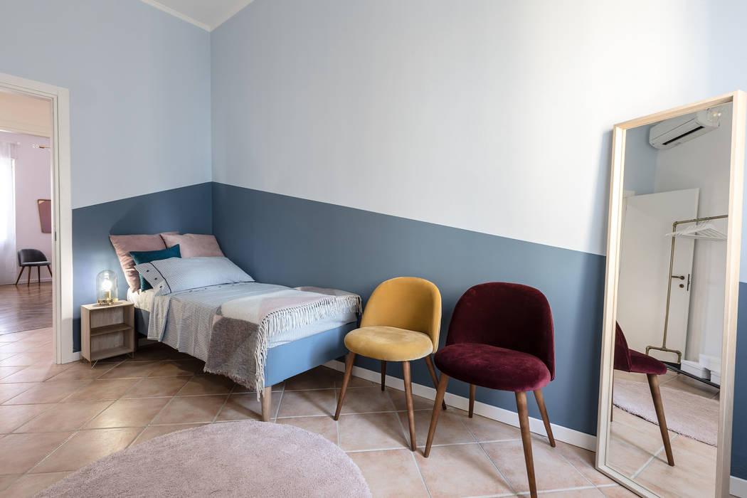 Camera singola camera da letto moderna di architrek moderno ...
