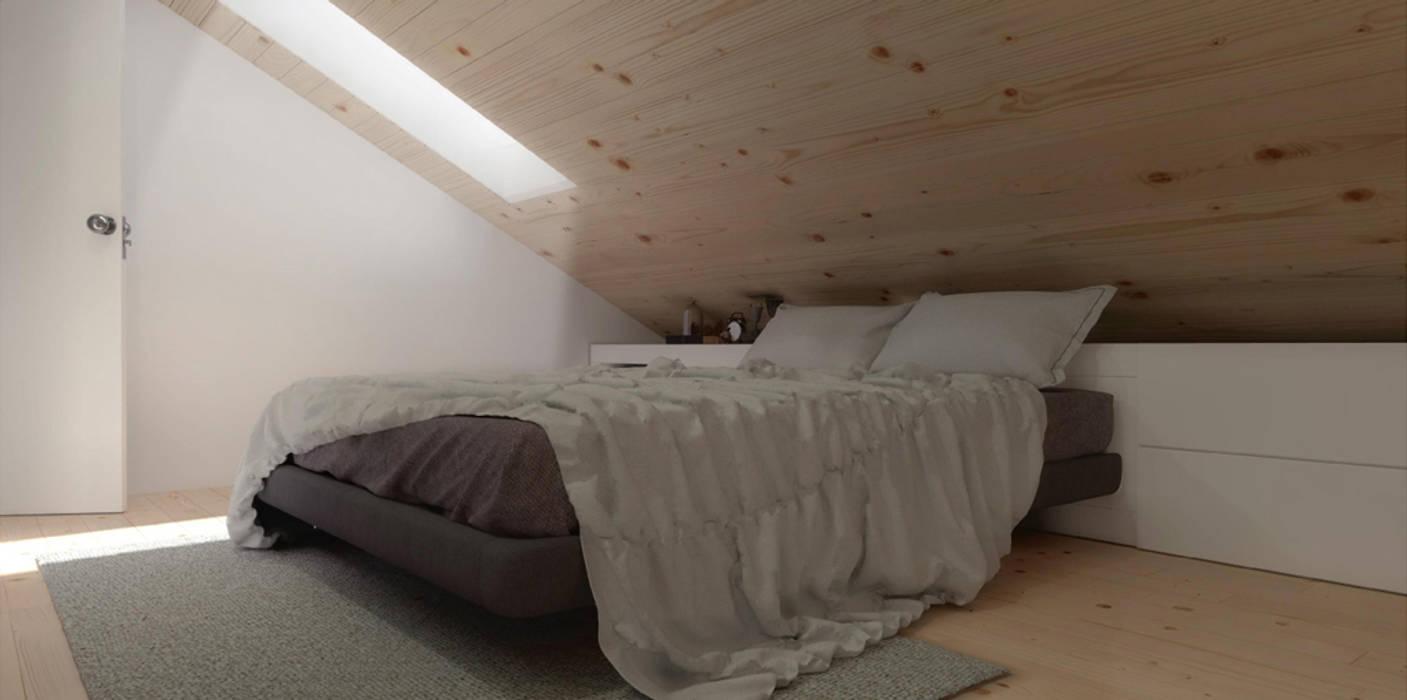 O sótão da família Oliveira Homestories Quartos escandinavos