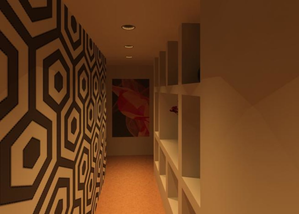 ACCESO: Salas / recibidores de estilo  por ESTUDIO KULUMAK