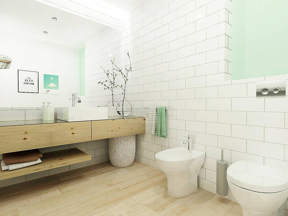 Casa da Susana: Casas de banho  por Homestories,