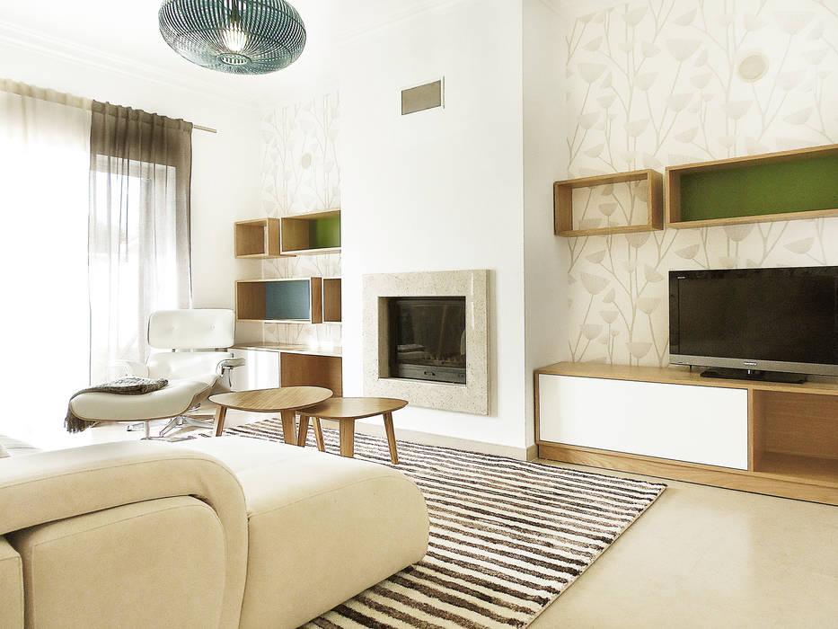 Homestories Scandinavian style living room