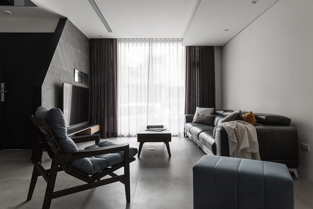 03 Modern living room by 沃思文化 / 林毅璋建築師事務所 + 乘四研究所 Modern