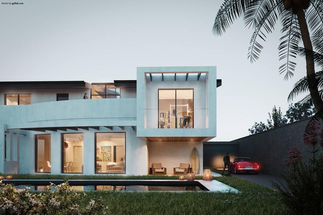 Villa unifamiliare: Villa in stile  di AR.IN. Studio - Progettazione e Servizi per l'Ingegneria e l'Architettura