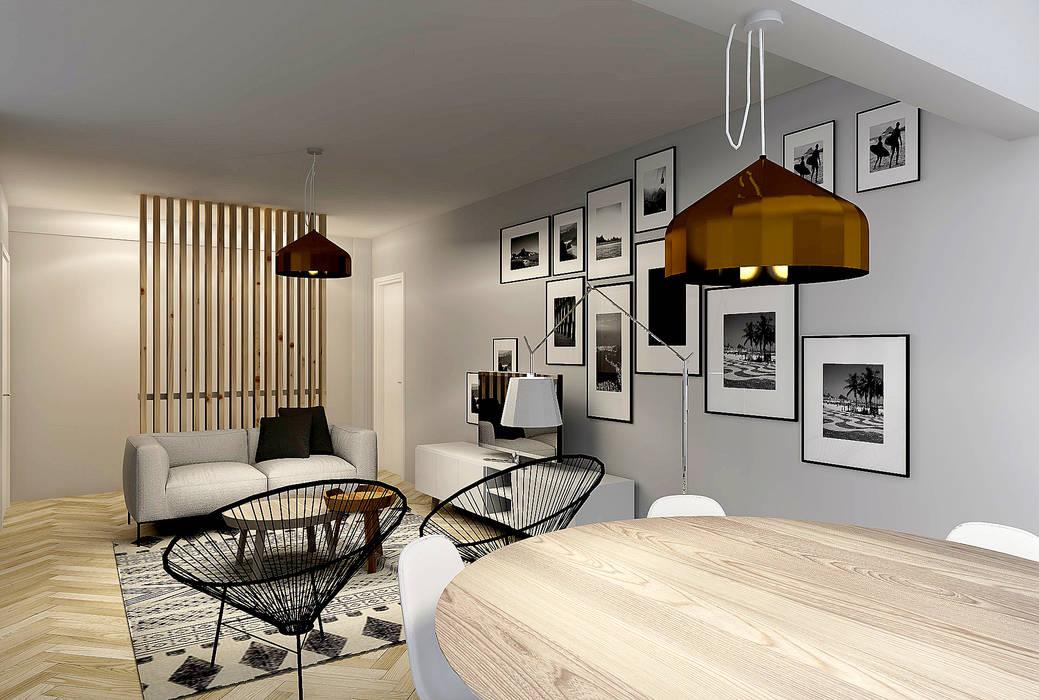 Ruang Makan oleh Homestories, Skandinavia
