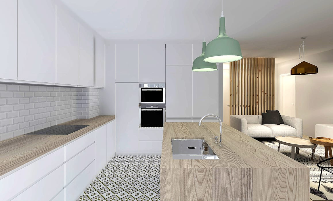 Kitchen by Homestories, Scandinavian