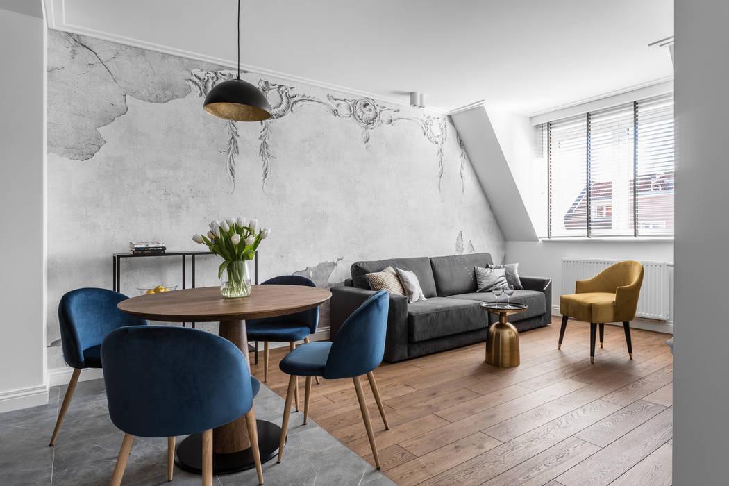 Livings de estilo ecléctico de Anna Serafin Architektura Wnętrz Ecléctico