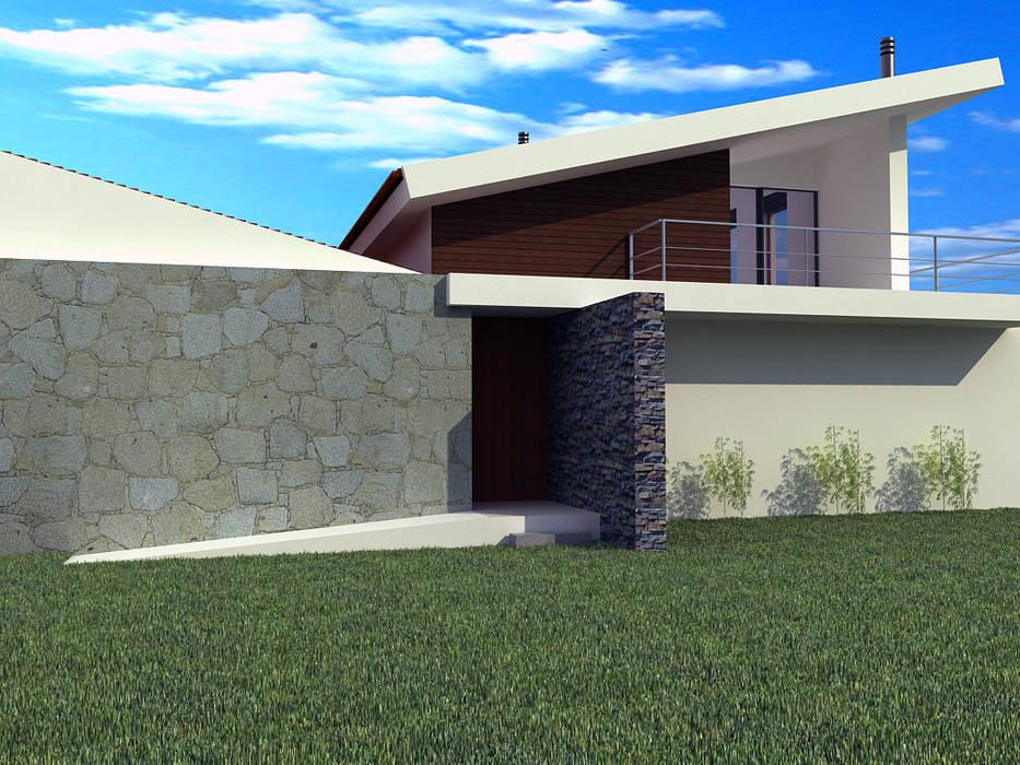 CASA RENDUFE - AMARES Tiago Araújo Arquitectura & Design Casas unifamilares