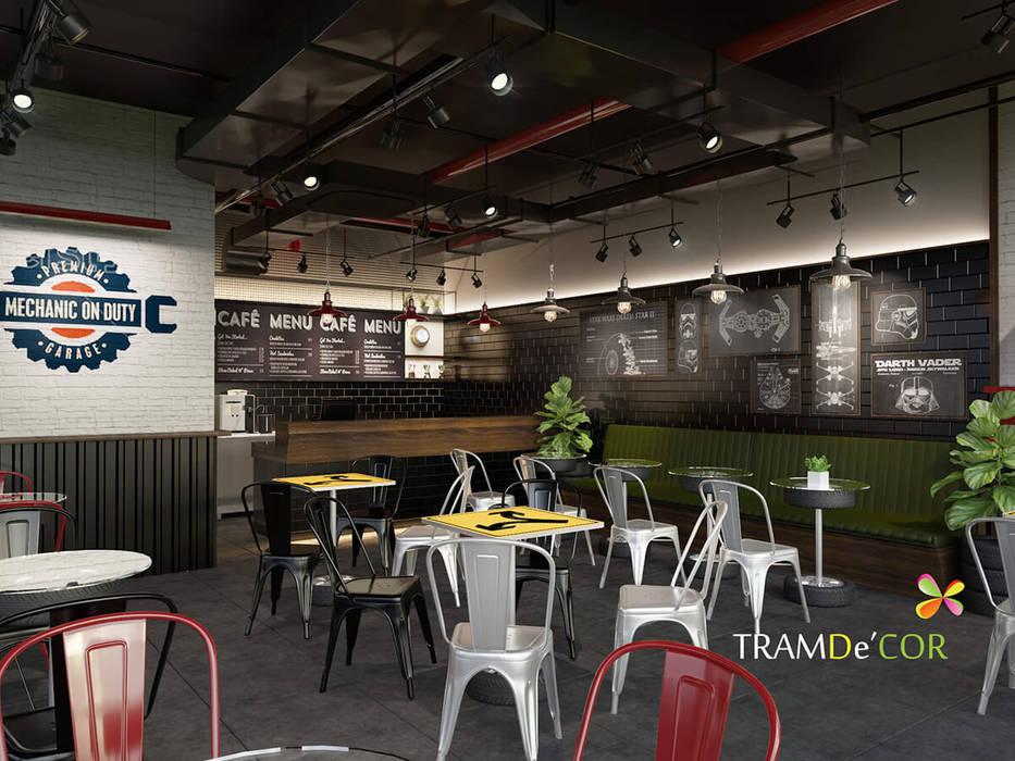 Dwash Coffee bởi Công ty Thiết kế Nội Thất Tramdecor Công nghiệp