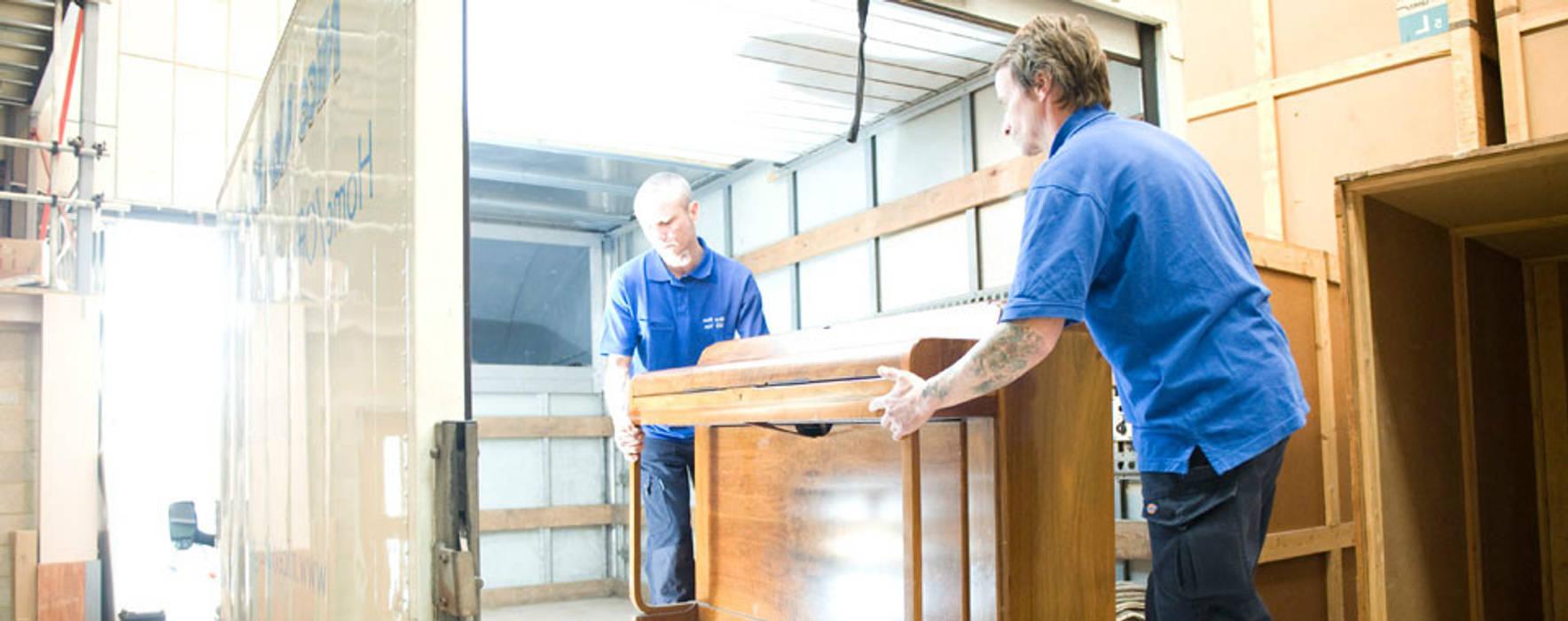 Part Load Removals Nice Man BIG Van Escritórios industriais Alumínio/Zinco Ambar/dourado