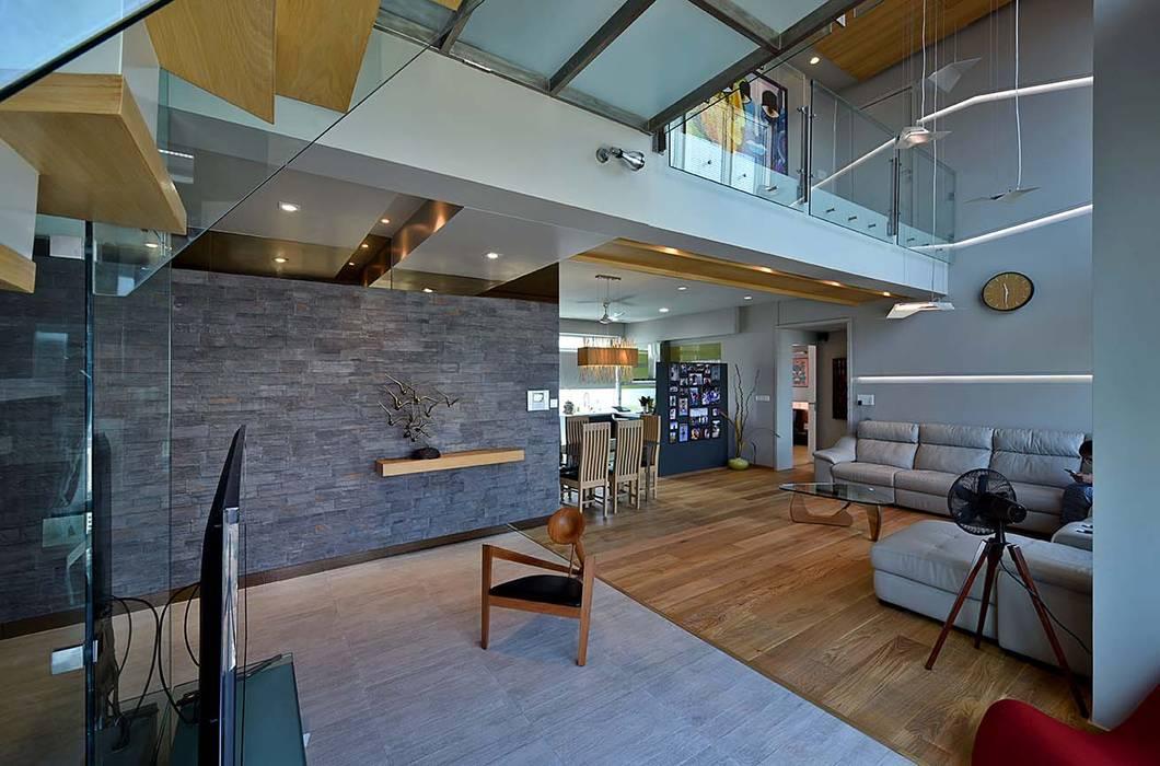 minimalistic Living room by Design Paradigm