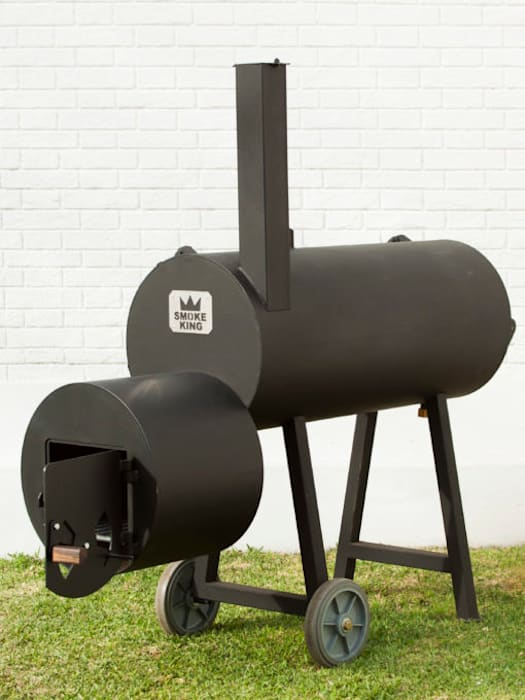 minimalist  by Smoke King Ahumadoras, Minimalist Iron/Steel