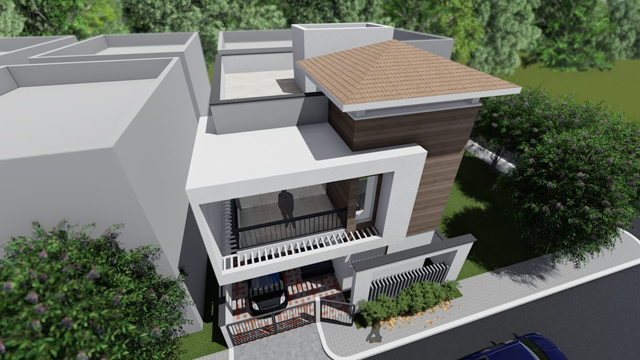 Pattanshetti Residence, Vijayapura: classic  by Cfolios Design And Construction Solutions Pvt Ltd,Classic