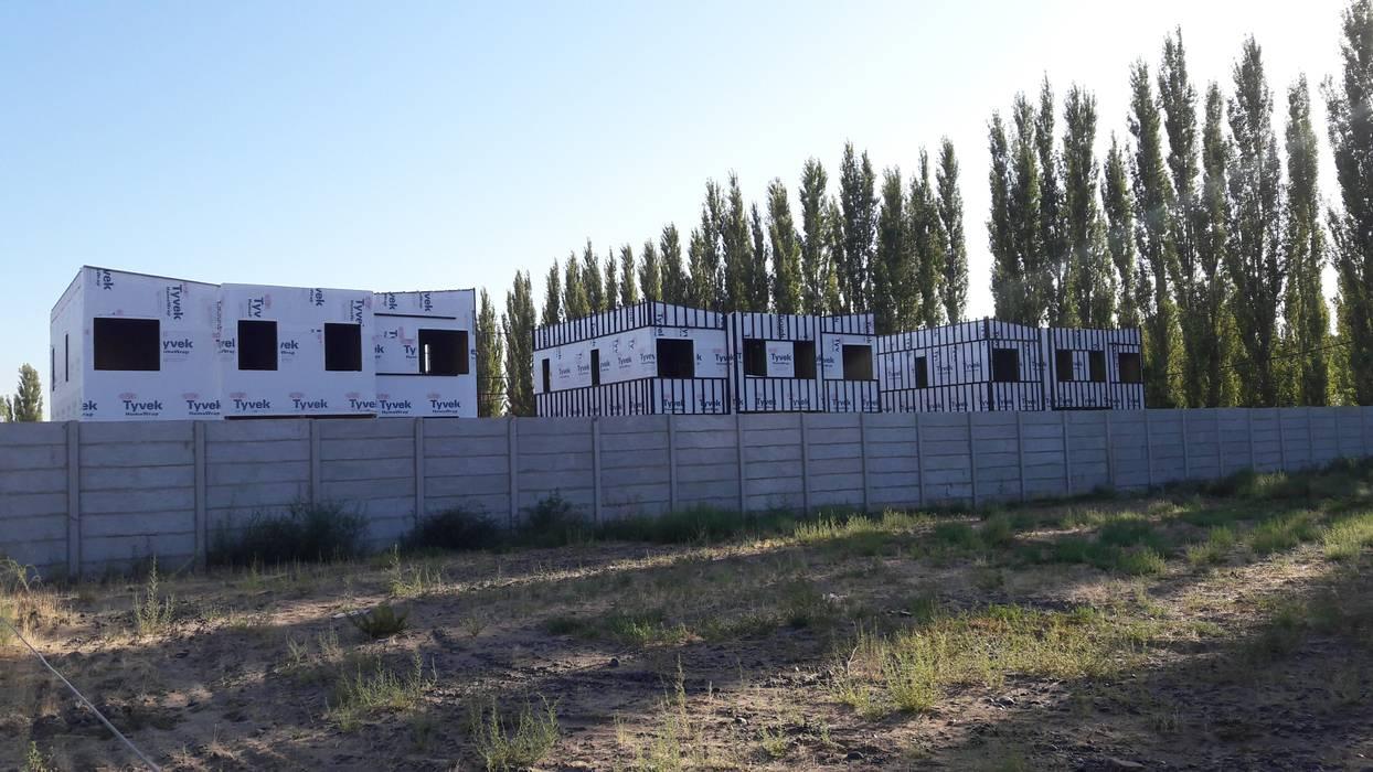 Colocacion de Tyvek en Muros de WGS SRL