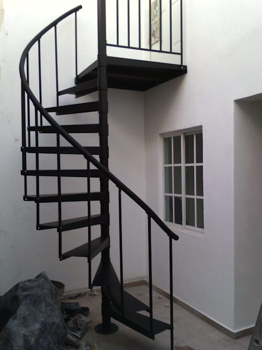 Escalera En Caracol Modelo Yaxchilan Escaleras De Estilo