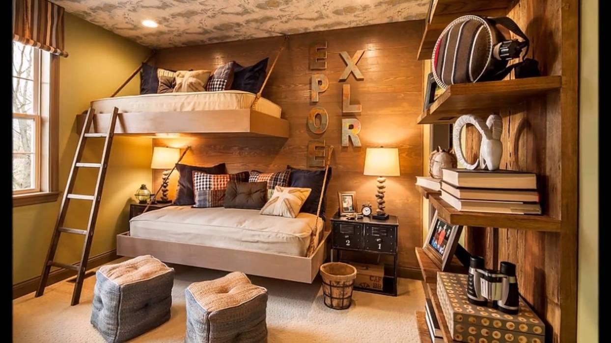 Dormitorio estilo California Casual: Habitaciones para niños de estilo  por A3 Arq. Aliro Ramos