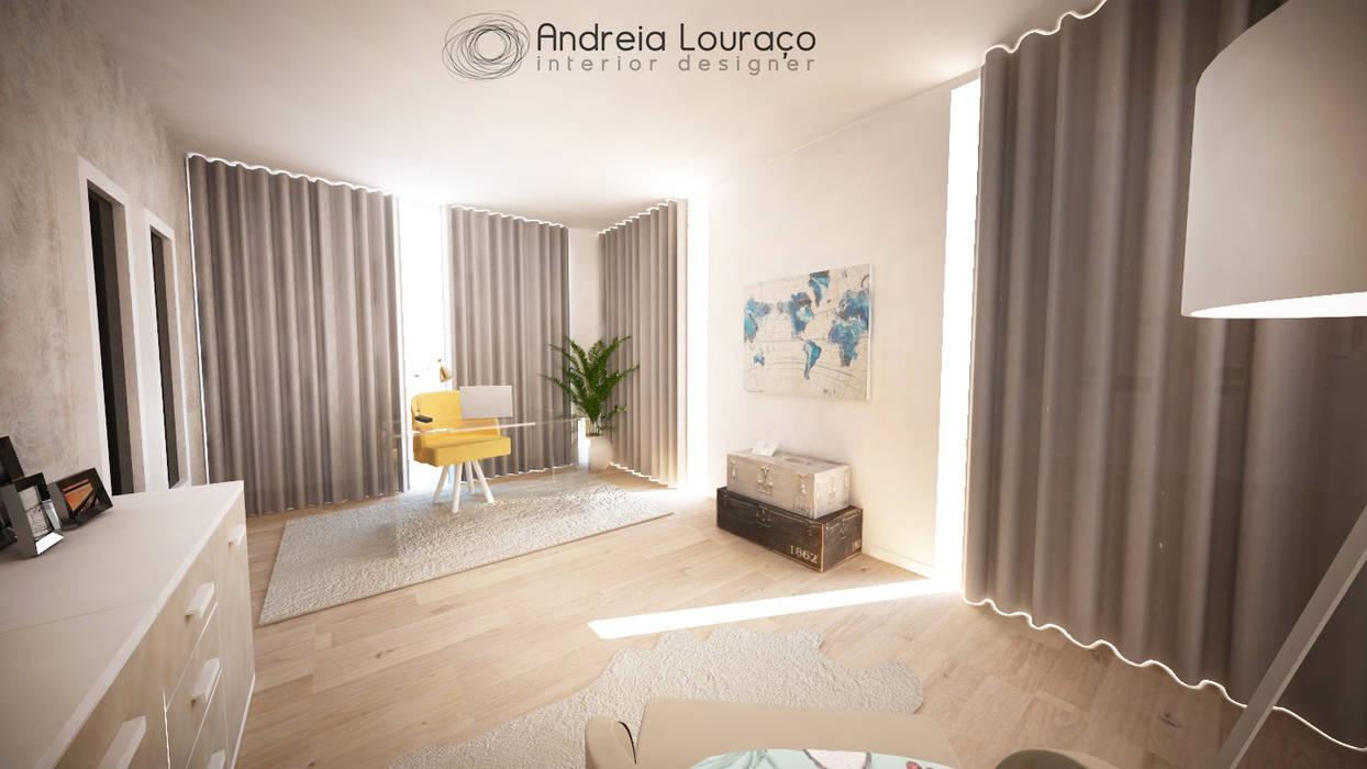 Andreia Louraço - Designer de Interiores (Email: andreialouraco@gmail.com) Modern study/office