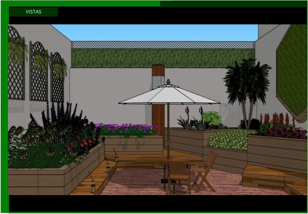 Propuesta: Jardines de estilo  por Estudio Carmesí. Diseño y Decoración