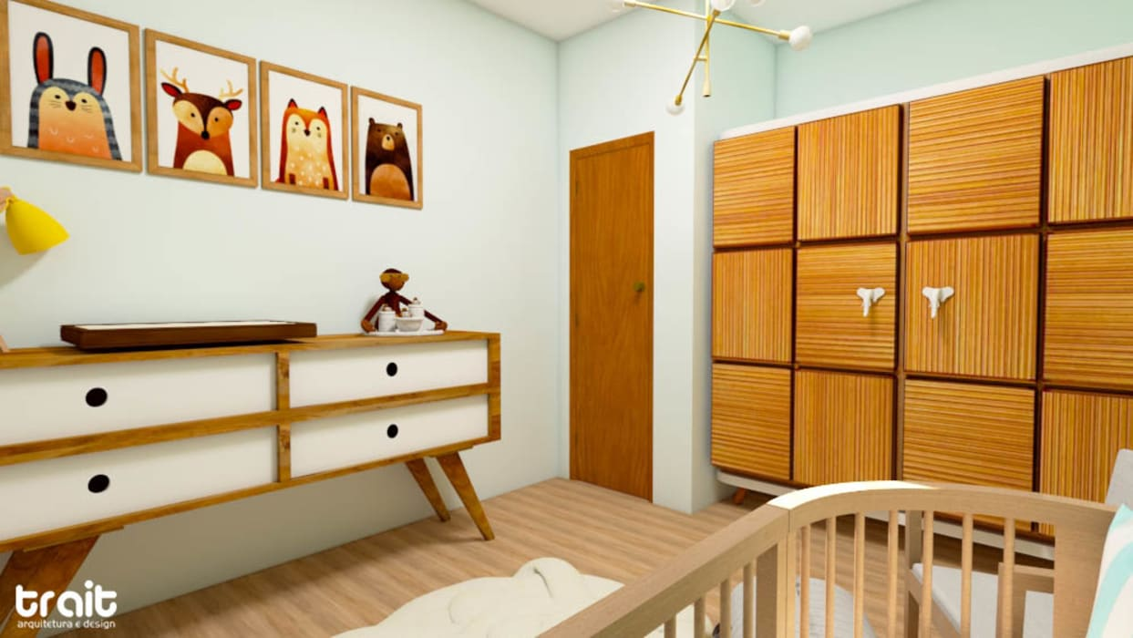 by Fark Arquitetura e Design Country Wood Wood effect