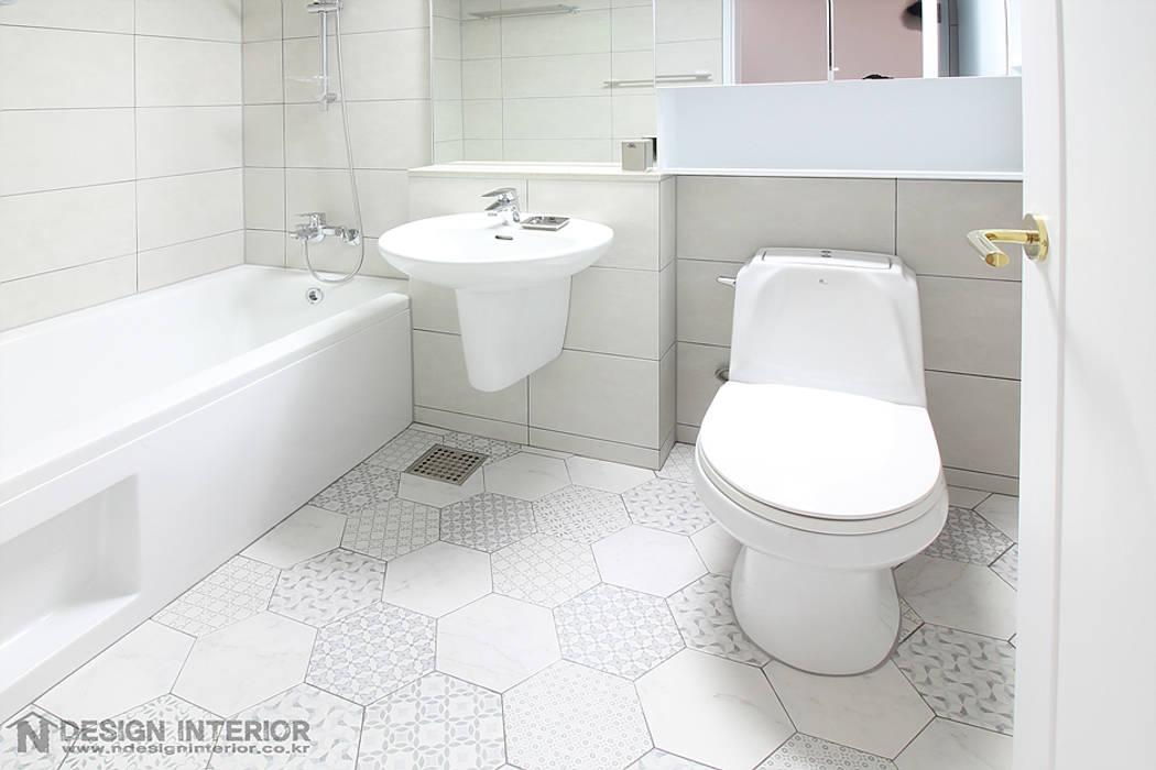 N디자인 인테리어 Moderne Badezimmer