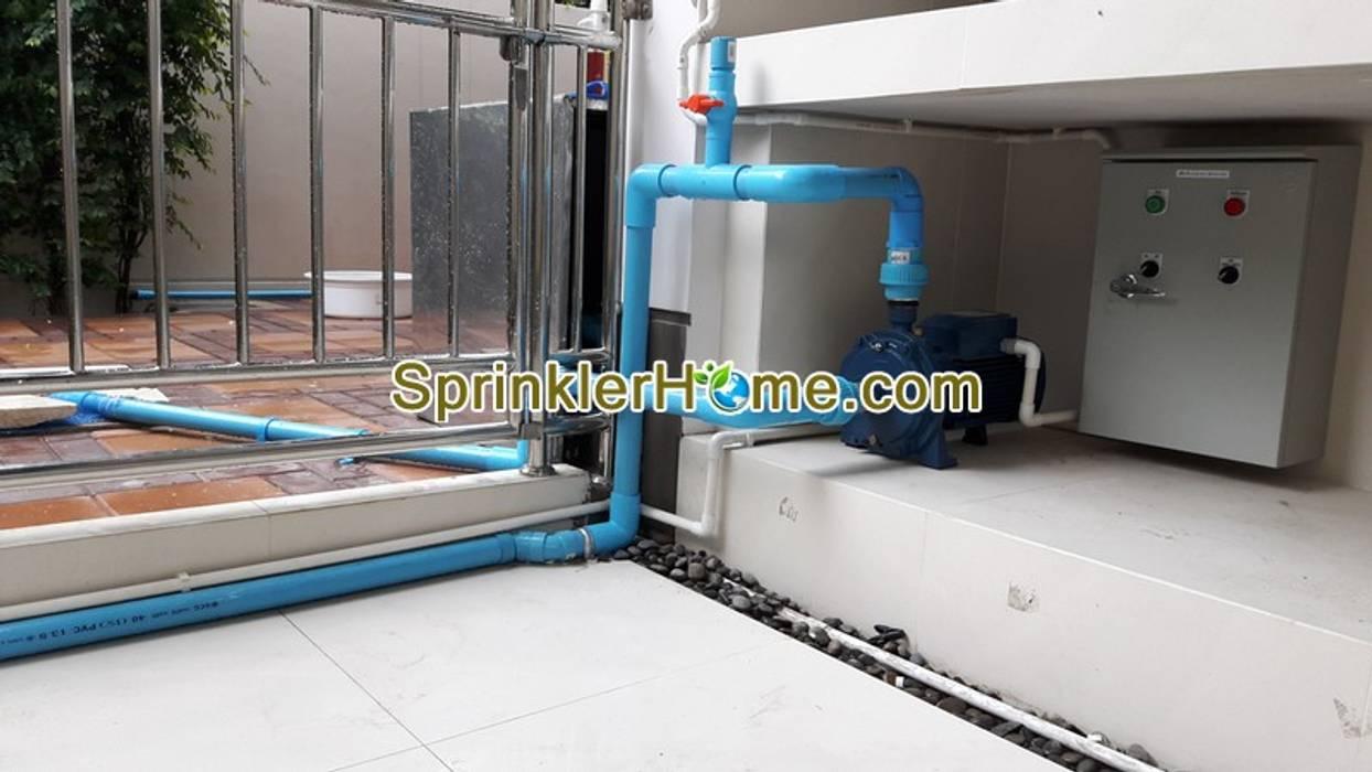 สปริงเกอร์ ระบบพ่นหมอก รดน้ำต้นไม้ SprinklerHome.com ออกแบบสปริงเกอร์ แต่งสวน ปูหญ้า ไทรเกาหลี น้ำพุ น้ำตก สวน ช่างประปา ช่างไฟฟ้า ติดตั้งปั้มน้ำ SprinklerHome.com