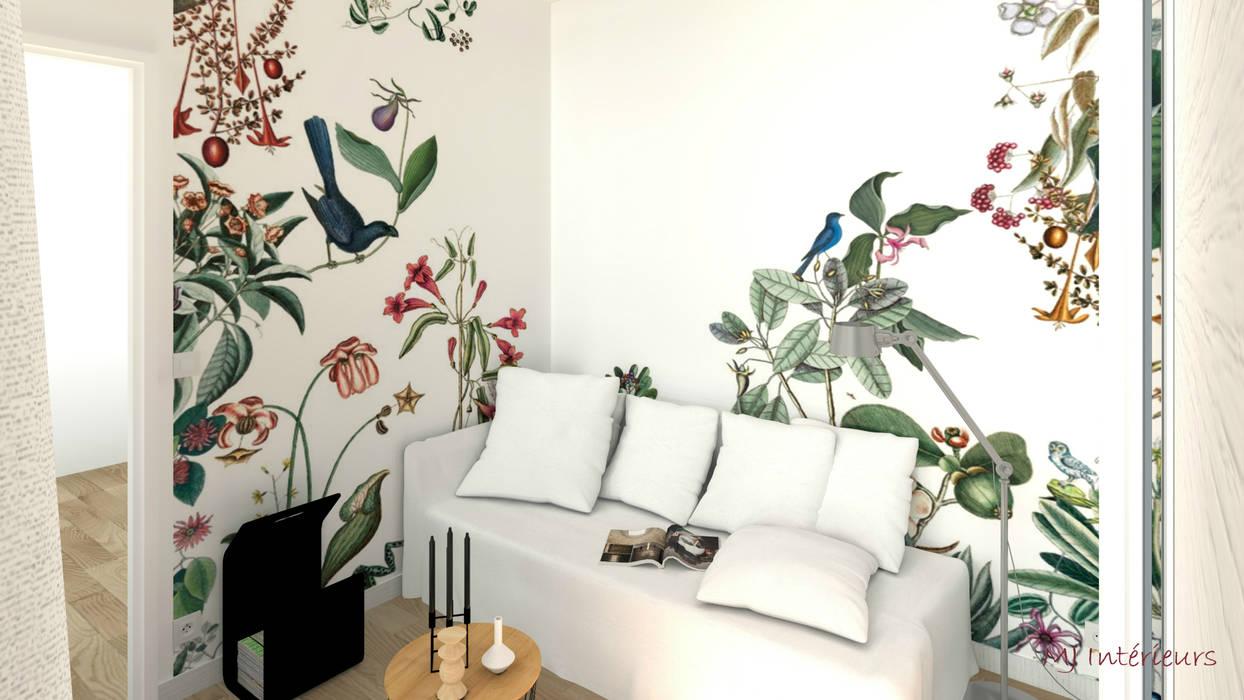 """Panoramique """"Bahamas"""" (Bien Fait) MJ Intérieurs Chambre tropicale Multicolore"""