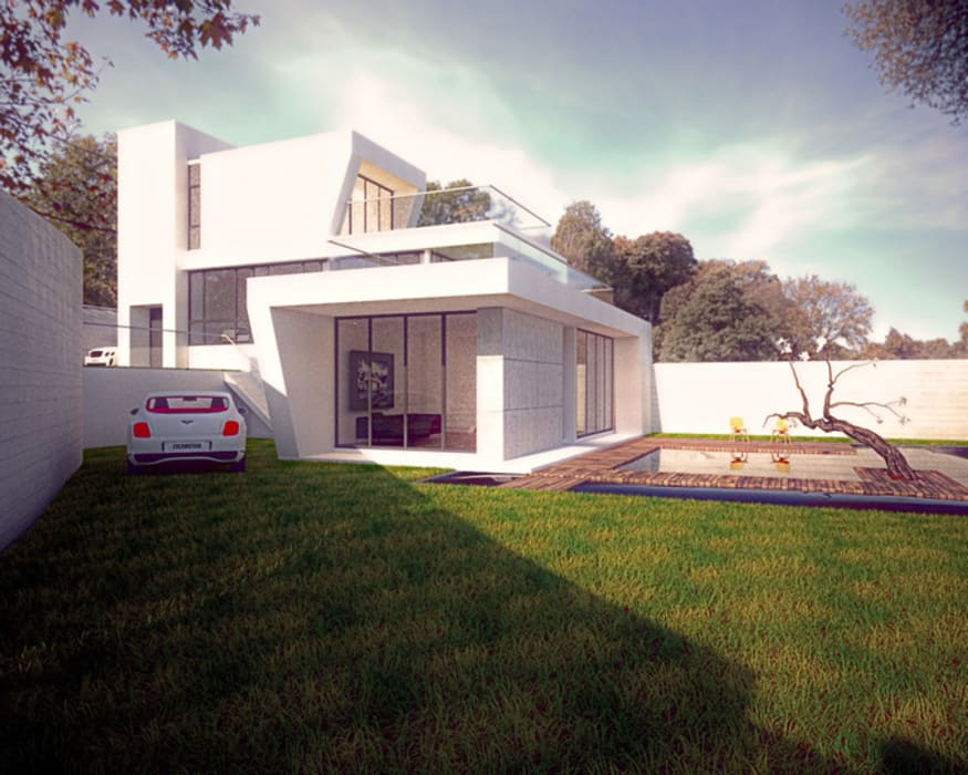 by 勻境設計 Unispace Designs Modern Concrete