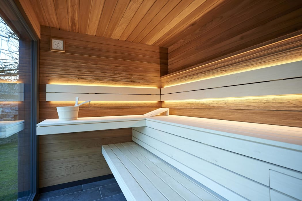Hervorragend Saunahaus spacube: designsauna: garten von corso sauna manufaktur SM48