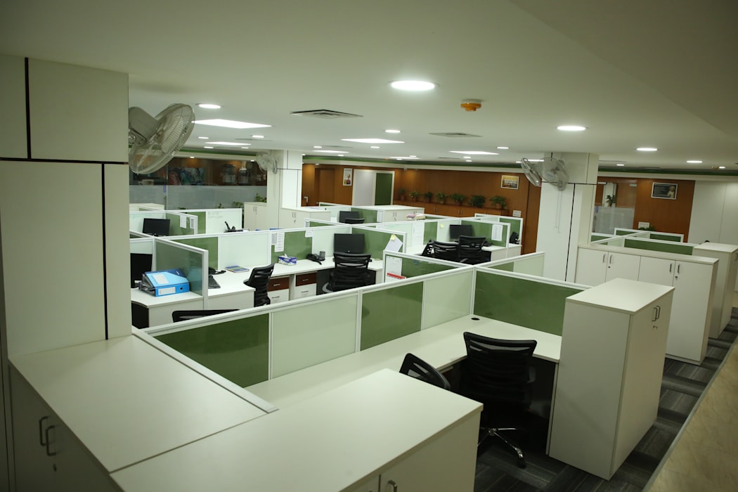 Commercial project Modern office buildings by QBOID DESIGN HOUSE Modern
