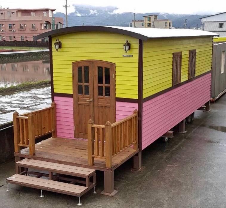 度假鋼構屋:  國家  by 好適屋 House Box, 鄉村風 塑木複合材料