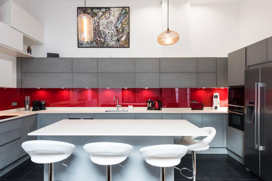 Industrial Style Kitchen By La Cuisine Dans Le Bain Sk Concept
