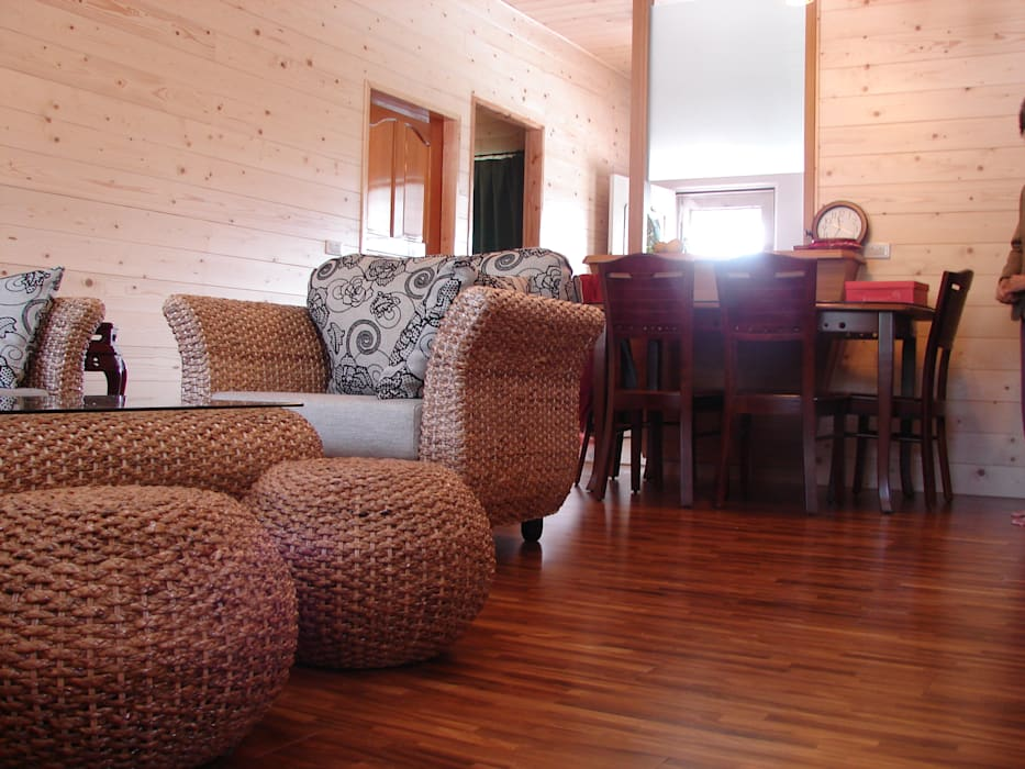 安居屋有限公司 Rustic style living room