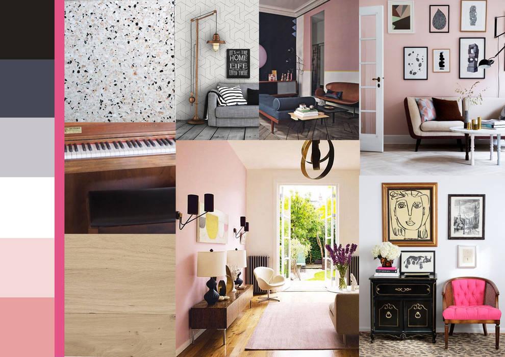 Planche tendance hall d\'entrée: couloir et hall d\'entrée de style ...
