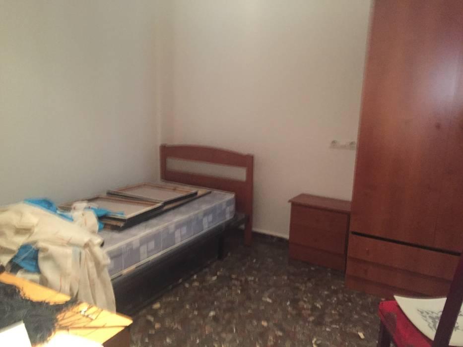 Dormitorio individual antes de CASA IMAGEN