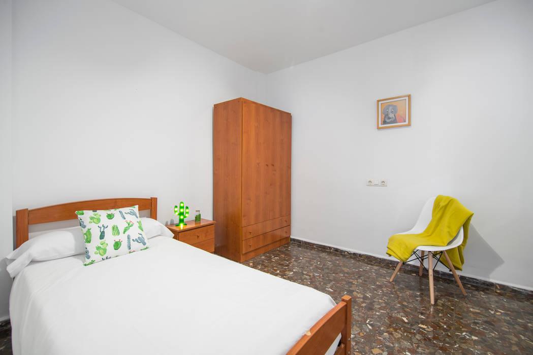 Dormitorio individual después de CASA IMAGEN