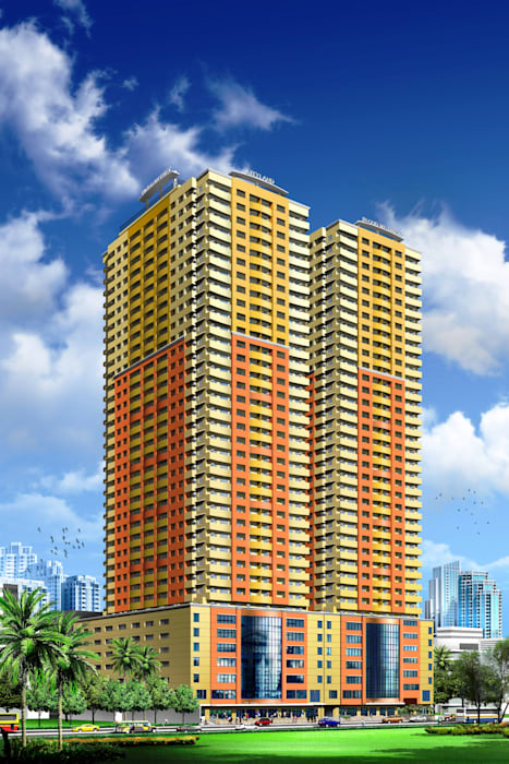 Manila Residences towers 1 & 2:  Hotels by AIM Architects