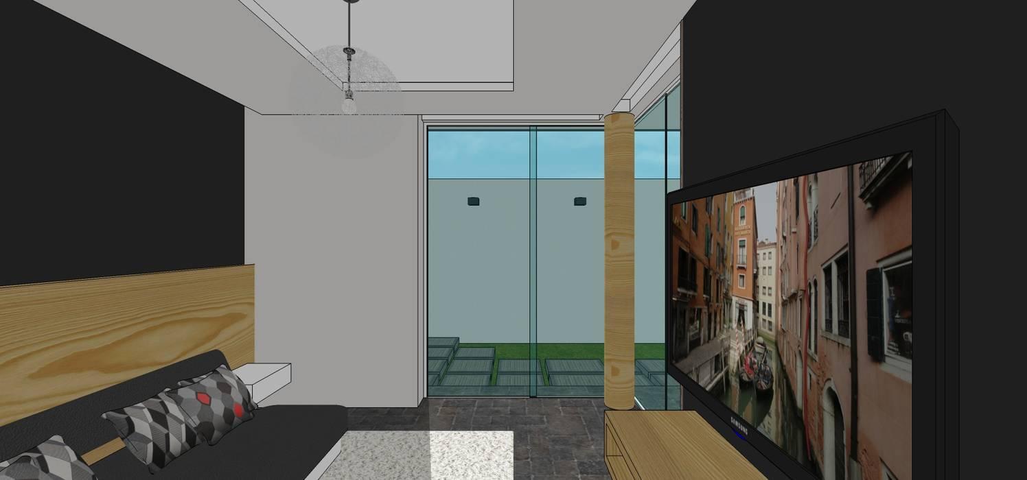 Casa en Barinas: Cuartos de estilo  por MARATEA Estudio, Minimalista