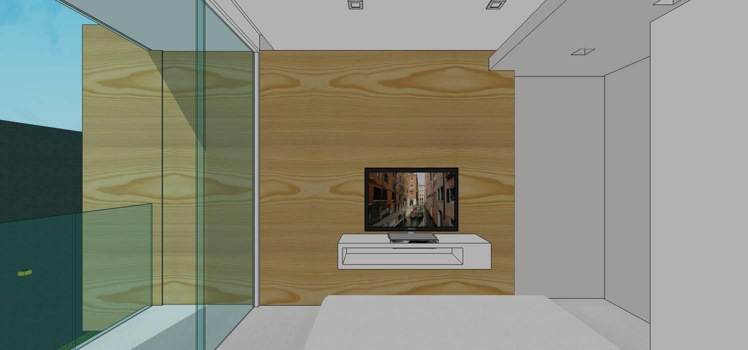 Casa en Barinas: Cuartos de estilo  por MARATEA Estudio, Escandinavo