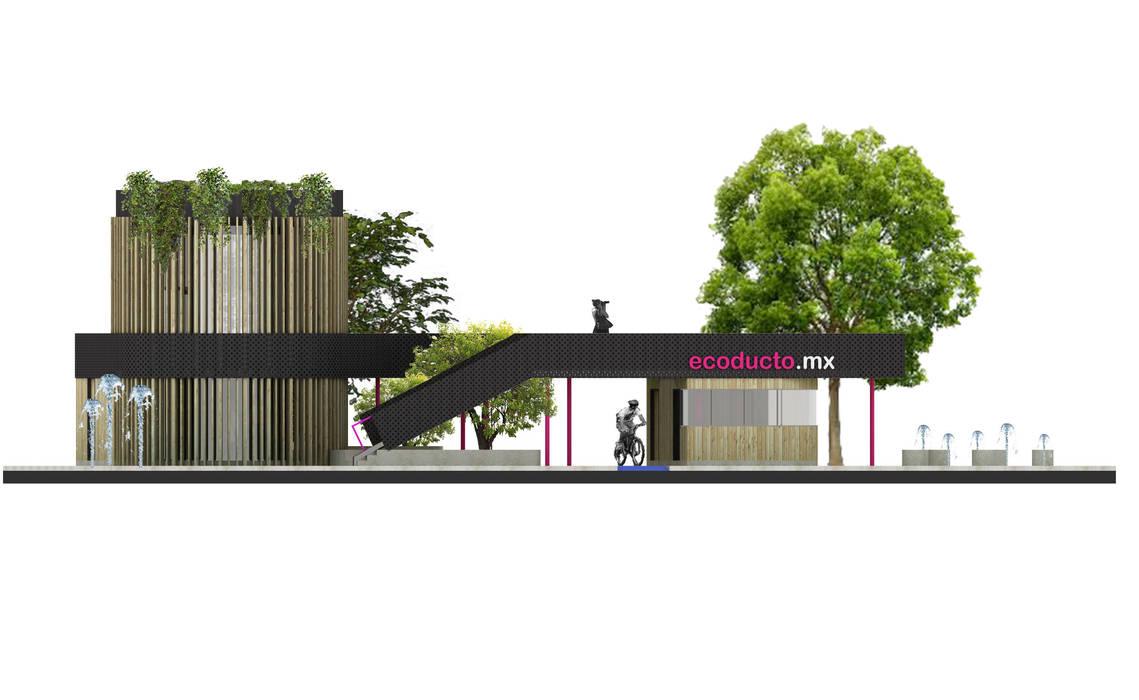 Pabellón del Agua de Lúdico Arquitectos Moderno