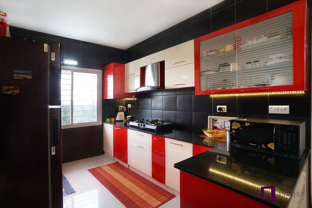 Cocinas de estilo minimalista de Asense Minimalista