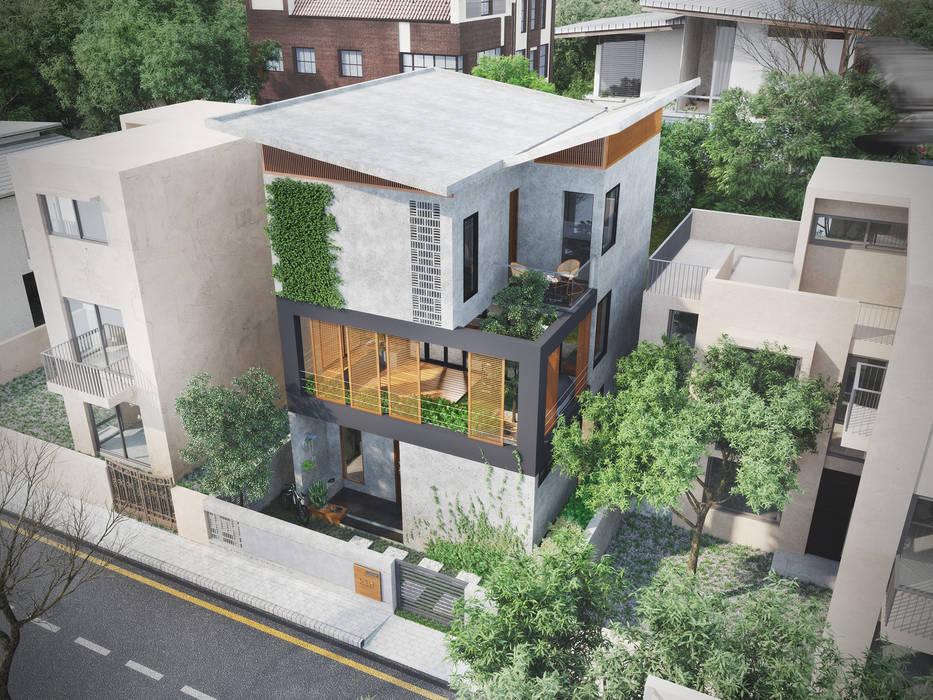 House 516 Scandinavian style houses by Studio Gritt Scandinavian