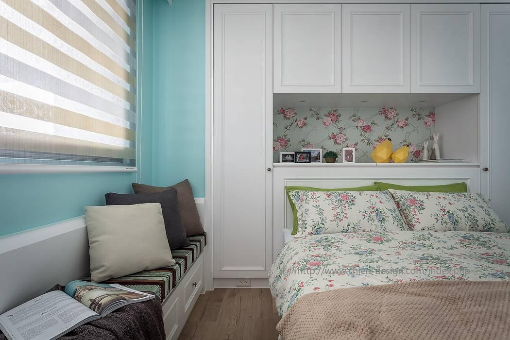雅憩:  臥室 by 鼎士達室內裝修企劃