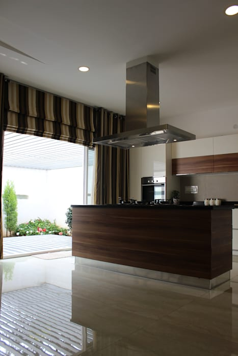 Garden Residence Modern kitchen by Architecture Continuous Modern