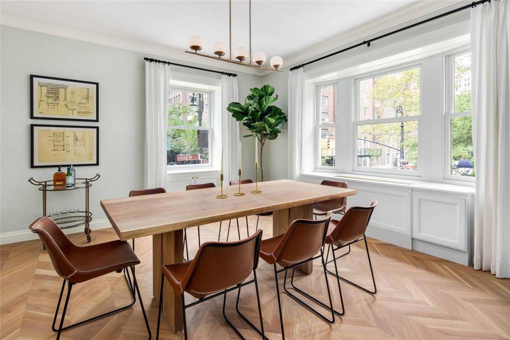 Проект апартаменты Мэдиссон : Столовые комнаты в . Автор – VADIM MALTSEV DESIGN&DECOR | FURNITURE, Колониальный