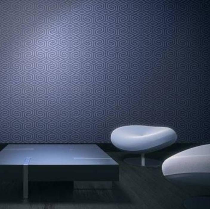 Supri Representações Ruang Komersial Modern Plastik Blue