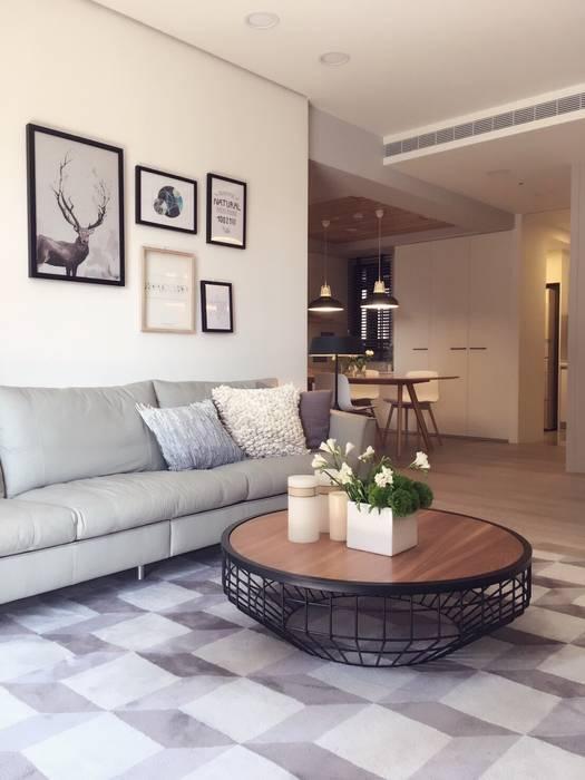 Project Fertility Design 豐聚空間設計 Moderne Wohnzimmer
