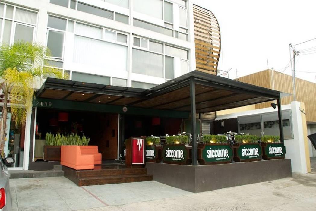 Diseño De Restaurantes Terraza Siccome Gdl Jal Mex
