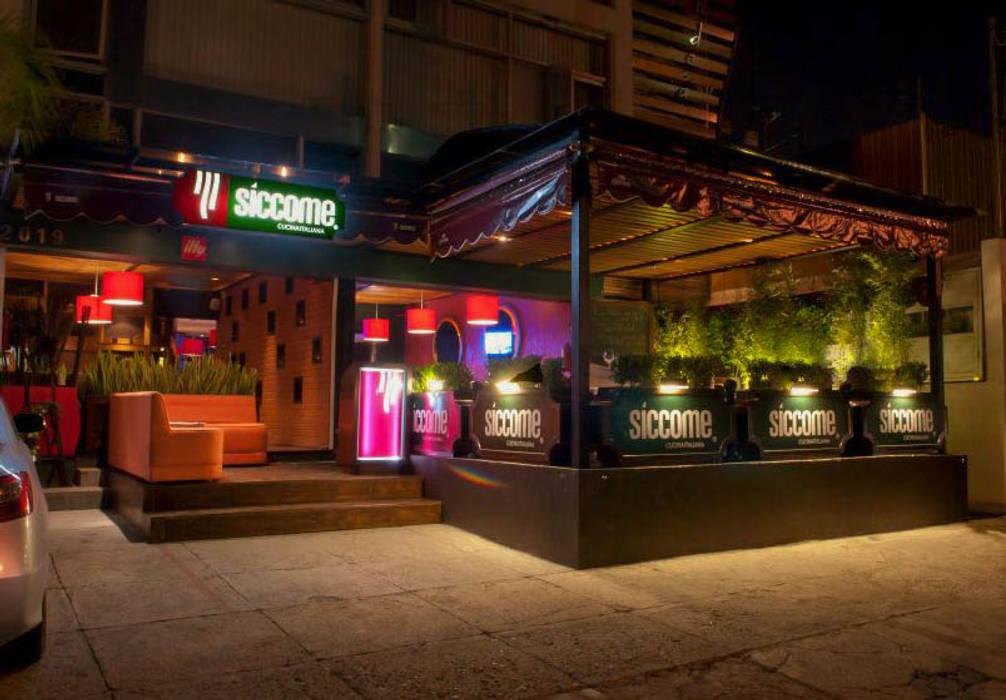 Diseño Y Arquitectura Restaurantes Terraza Siccome Gdl Jal
