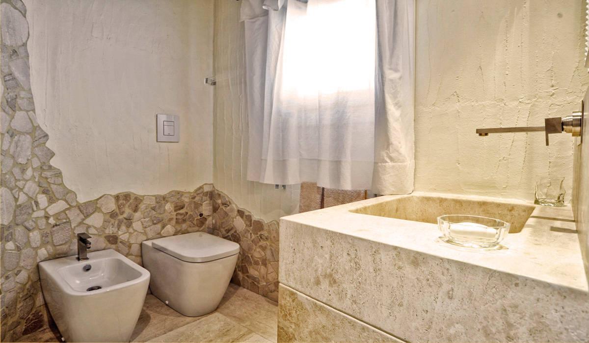 Bagno in marmo di orosei bagno in stile di alfredo pulcrano homify